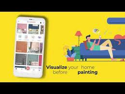 asian paints wall paint design app