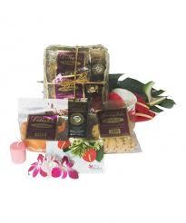 tropical taste hawaiian gift basket