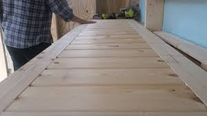 a guide to build a door frame