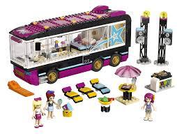 Đồ chơi LEGO Friends 41106 - Xe Buýt Biểu Diễn Ngôi Sao