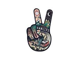 V For Vanlife Sticker Gowesty