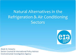Natural Alternatives in the Refrigeration & Air Conditioning Sectors - PDF  Free Download