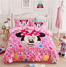 minnie mouse bed linens kids queen size