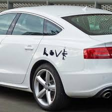 1pc Unique Decorative Decal Love Pattern Car Bumper Sticker For Window Room Truck Laptop Decoration Buy At A Low Prices On Joom E Commerce Platform