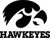 New Iowa Hawkeyes Cornhole Decals 2 Large Decals Window Decals Ebay