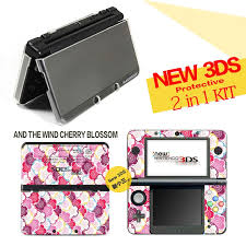 2 In1 Kit The Wind Cherry Blossom Vinyl Skin Sticker Protector Spit Crystal Case For Nintendo 3ds Skins Stickers Aliexpress Deals