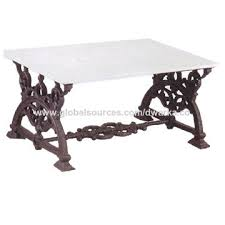 cast iron coffee table on global sources