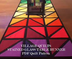 table runner pattern village quilts