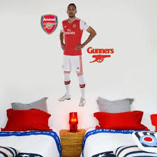 Official Licensed Football Entertainment Wall Stickers Arsenal Bedroom Football Gifts The Beautiful Game