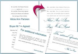 diy wedding invitation tutorial using