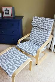 ikea poang chair slipcover pattern