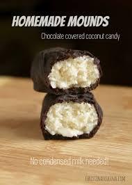 mounds or bounty chocolate bars