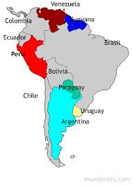 Límites de Perú (Mapa) | Mundonets