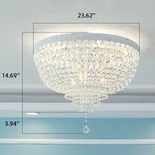 Kids Bedroom Living Room Empire Chandelier 23 62 Wide Crystal Chandelier Light With Crystal Balls Susuohome Com