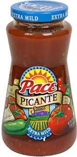 pace extra mild picante sauce 16 oz