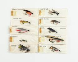 10 Early Ora Smith Flies | Lang's Auction Inc.