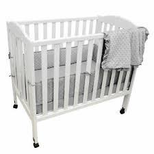 baby doll bedding croco minky mini crib