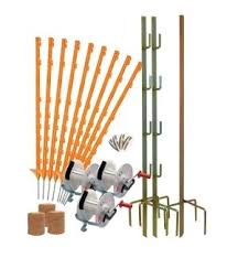3 Reel Electric Fencing Kit Supplied Complete Ready To Use Agrisellex