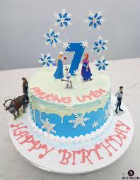 Bánh Sinh Nhật Cổ Tích với Công Chúa Elsa , Tuần lộc Cho Bé Gái ...