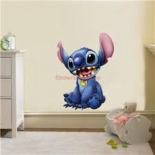 Lilo And Stitch Disney Movie Decal Removable Wall Sticker Home Decor Art Kids Ebay