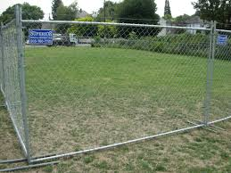Panel And Stands Temporary Fence 503 760 7725 Backyard Fences Cheap Fence Fence Landscaping