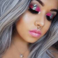 best glitter makeup looks 2016