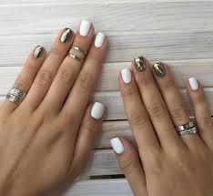 short long nails nail art designs