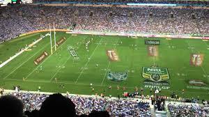 Kick Off at the 2014 NRL Grand Final ...