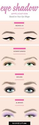 how to do diffe types of eye makeup
