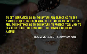 top quotes on silence of nature famous quotes sayings about