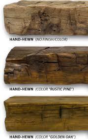 reclaimed wood beam barnwood mantel