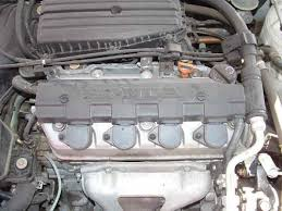 performing an oil change on a honda civic