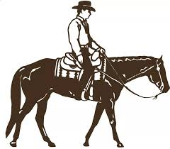 Cowboy Riding Horse Rodeo Equestrian Car Window Vinyl Decal Sticker Western Rodeo Stickers Boy Bedroom Running Horse Home Murals Mural Water Murals Flowersmural Print Aliexpress