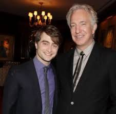 Daniel Radcliffe with father Alan George Radcliffe | Celebrities  InfoSeeMedia