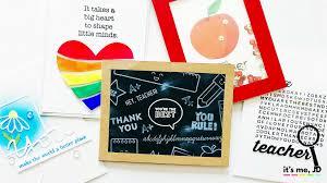 5 Handmade Card Ideas That Teachers Will Love