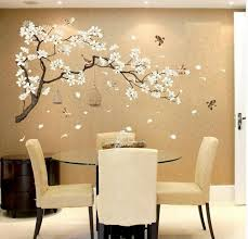 Wall Sticker Cherry Blossom Pink Lobby Living Room Bedroom Wall Decal Home Decor For Sale Online