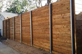 Wood Fences Installation Construction Fence Max Texas