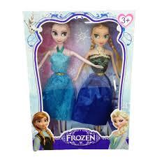 LT Búp bê Nữ hoàng băng giá Frozen: Elsa và Anna FDCA341