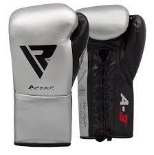 rdx boxing gloves leather pro fa3 size