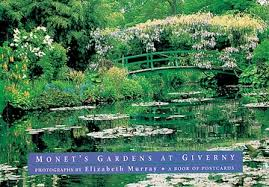 gardens at giverny book of postcards