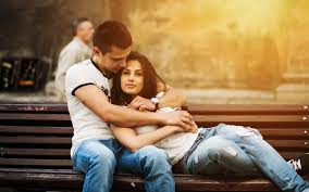 lovely romantic couple wallpaper 27561