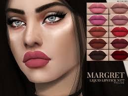 margret liquid lipstick n177 sims 4