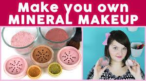 diy makeup how to make mineral makeup