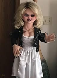bride of chucky tiffany makeup