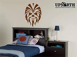 Amazon Com Chewbacca Chewie Vinyl Decal Made To Order Custom Home Wall Decor Handmade