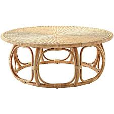 st lucia rattan coffee table by abide