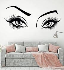 Sexy Girl Eyes Wall Decal For Beauty Hair Salon Wall Decor Vinyl Art Stickers Eyelashes And Eyebrows Sticker Home Decorate Wall Stickers Decor Wall Stickers Decoration From Onlinegame 8 96 Dhgate Com