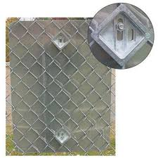 Signgrabber Bracket For Standard Chain Link Fence With 2 Opening With Hardware Sg2 Signgrabber2 Shiffler