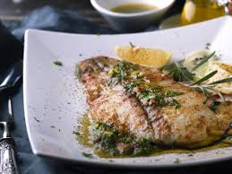 Grilled Halibut with Chimichurri Recipe ...