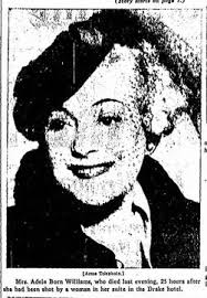 Adele Born Swabaker Williams (1889-1944) - Find A Grave Memorial